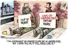 UNEMPLOYMENT   Sep/05/15 Rick McKee - The Augusta Chronicle -