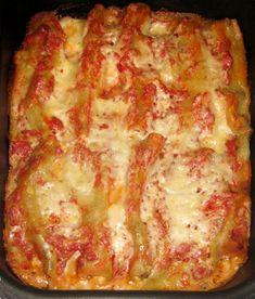 Ricetta Cannelloni ai funghi (Primi piatti) [VeganHome]