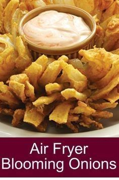 Air Fryer Blooming Onions - Home Decor And Cooking Recipes #HealthyFood #FoodRecipes #Dessert #Vegan #Vegetables #Delicious