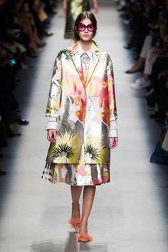 #Défilé #Rochas printemps-été 2016, Paris #fashion #fw #paris #ss16 #floral