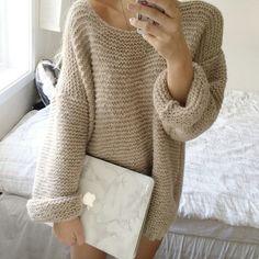 Skappelgenseren / Skappel sweater Hand Knitted Sweaters, Fall Sweaters, Easy Knitting, Knitting Ideas, Knitwear, Knit Crochet, Sewing Patterns, Autumn Morning, Fabric