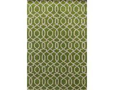 Dywan 'City' zielono - kremowy