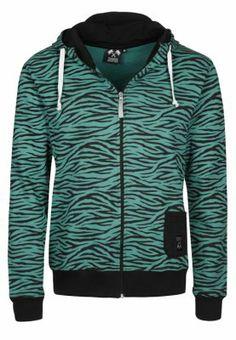 Bluza rozpinana - zielony