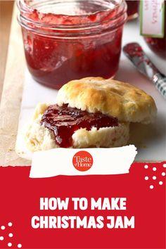 How to Make Christmas Jam