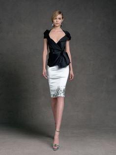 Donna Karan Croisière 2013 Mode Contemporaine, Mode Noir, Fringues,  Vêtements De Bureau, 6087e8e18e0