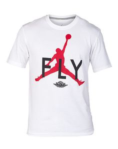 JORDAN+Short+sleeve+tee+Screen+print+logo+lettering+on+front+Stretch+material+for+ultimate+comfort+Crew+neck+Ribbed+collar+Jumpman+logo