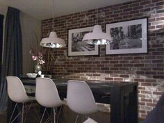 Old look New York Style Steenstrips in de slaapkamer | Old look ...
