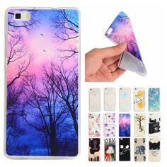 >> Click to Buy << For Coque Huawei P8 Lite Case Silicon Cartoon Transparent Cover for Huawei Ascend P8 Mini P 8 Lite Slim TPU Soft Back Phone Case #Affiliate