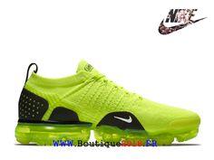 competitive price ef93a bac46 Nike Vapormax Flyknit 2 Chaussures 2018 Pas Cher Pour Homme Vert noir-Nike  Boutique de Chaussure Baskets Site Officiel boutique2018.fr