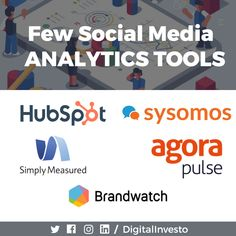 Analytics is the best way to know your audience and their interests. What's tough is finding the right tool? We made that easy for you. Here are a few social media analytics that work great. Analytics plays a key role in web, social media and in business too. Join digital investo and learn all the information about analytics tools,  tips, tricks and hacks.For more interesting post updates follow our Social Media Channels and subscribe to our Website. Social Media Analytics, Social Media Marketing, Social Media Channels, Competitor Analysis, More Fun, Plays, Knowing You, Join, Passion