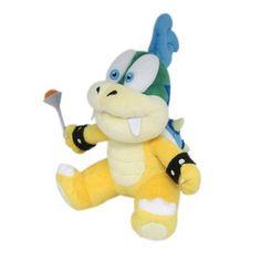 "1343 Little Buddy Usa Nintendo Super Mario - 7"" Larry Koopa Plush Doll"
