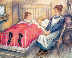 December – The Christmas Eve Ghost by Shirley Hughes Christmas Illustration, Children's Book Illustration, Book Illustrations, Vintage Children's Books, Vintage Posters, Shirley Hughes, British Books, Hearth And Home, Paintings I Love