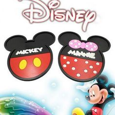New Design Cartoon animation Mickey Mouse Car Dashboard Minnie Non-slip Mat Phone Holder Car Accessories Decoration