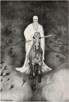 Theodor Kittelsen (1857-1914), Apokalypse Döden – ...