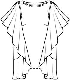 Burda Style Blusa - MUJER - PATRONES PARA DESCARGAR - TIENDA BURDA