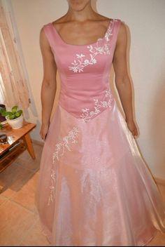 Abendkleid rosa Prinzessinnenkleid