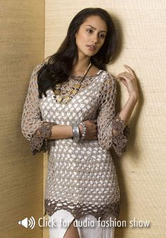 Free Crochet Patterns For Tunic Tops : 1000+ images about crochet clothes for women on Pinterest ...