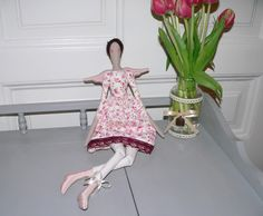 Tilda doll - Angel doll - Handmade - Vintage - Gift - Home decoration - Home decor - Interior SPRING by TundeFairys on Etsy