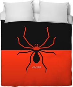 New at love and design today: Spider Duvet Cover - click through http://loveanddesign.com/products/spider-duvet-cover?utm_campaign=social_autopilot&utm_source=pin&utm_medium=pin