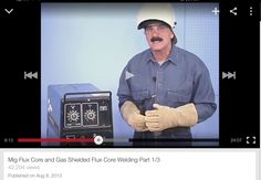 MIG Welding Steve Bleile tutorial 1/3