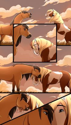 dynamic poses are pain e,_e Spirit, Rain and Esperanza (c) Dreamworks Cimarron herd Spirit Horse Movie, Spirit The Horse, Spirit And Rain, Arte Disney, Disney Art, Caballo Spirit, Galery Photo, Anime Puppy, Spirit Drawing