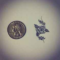 Small rose tattoo design on my back somewhere? Or maybe my hip?