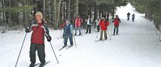 Cross country skiing just 50 km from downtown Toronto. That's at Albion Hills Conservation Area, a mere 17 mins drive from 20 Bells Lake B&B.