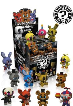 Case of 12 Funko Mystery Minis Fnaf Five Nights at Freddy's Blind Box Figures | eBay
