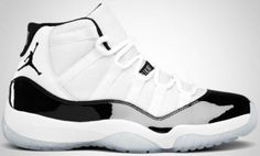 Nike Jordan 11 Concord (beauty... my fav basketball shoe, one day i will own them!)