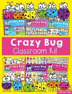 Crazy Bug Classroom Kit -