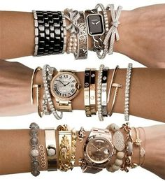 The Cartier watch...oh my