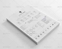 Free Resume Templates And Printing Clean And Sharp Resume Template Psd #design Download Http