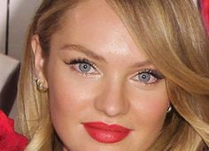 Leave it to a Couple of Victoria's Secret Models to Find Two Hot Makeup Looks for Valentine's Day! Which Would You Wear?