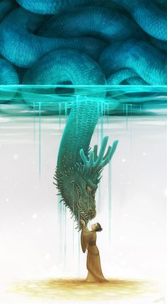 Best Illustration Painting Art Animation Molly images on Designspiration Art Fantaisiste, Art Anime, Art Et Illustration, Creative Illustration, Wow Art, Dragon Art, Whimsical Art, Art Design, Mythical Creatures
