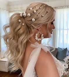 """Jody Callan Hair on Instagram: """"Tara with the good hair 🤍 All her own hair…. I'll post a reel of Tara's magical day at the beautiful Gabbinbar Homestead 🤍 This is a once…"""" Cool Hairstyles, Diamond Earrings, Homestead, Beautiful, Instagram, Fashion, Moda, Fancy Hairstyles, Fashion Styles"""