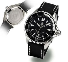The brand new Steinhart OCEAN two black is quite a stunner.