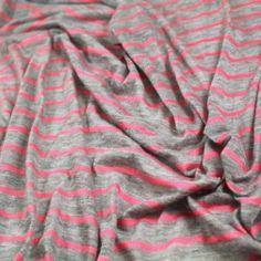 Striped Lightweight Rayon Jersey -- Printed Jersey Archives - Gorgeous FabricsGorgeous Fabrics