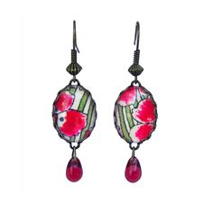 Boucles d'oreilles assorties au collier Charmante, de la collection Aujourd'hui Je Suis...
