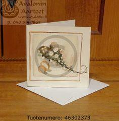 Minna Immonen wedding / engagement card / Minna Immosen hää- / kihlajaiskortti