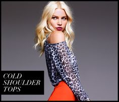 Our Stylist Loves: Cold Shoulder Tops