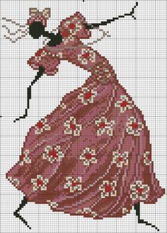 Gallery.ru / Фото #4 - Африканка в красном платье - mornela