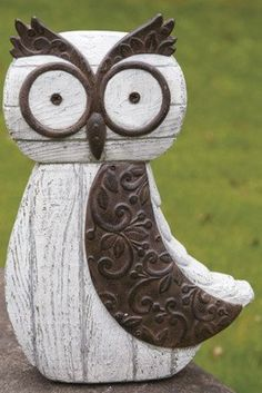 Would love to have this owl in my garden! (: