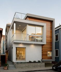 why should the design concept compact house the more limited the amount of land in