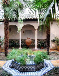 Patio interior del Museo Sorolla en Madrid                                                                                                                                                                                 Más