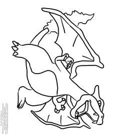 charizard-coloring-pages-465.jpg | peluches | Pinterest | Charizard
