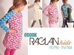eBOOK RAGLAN.kids 50/56-158/164 DaWanda