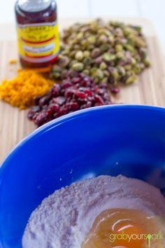 Cranberry and Pistachio Biscotti Recipe Ingredients