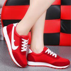 Купить товар2015 женская обувь оптовая продажа мода женщин на низком каблуке свободного покроя обувь для женщин холст прогулки дышащей обуви в категории Кроссовки для женщинна AliExpress.