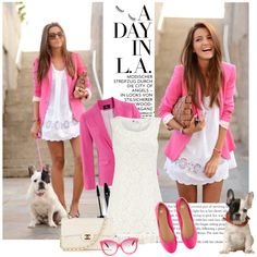 Love this pink blazer! <3
