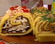 Ideal y fácil: Arrollados salados con mil rellenos hechos con pionono
